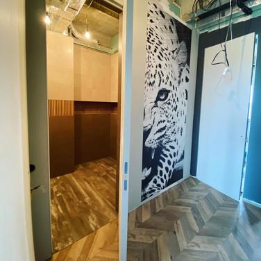 дизайн ванной и холла