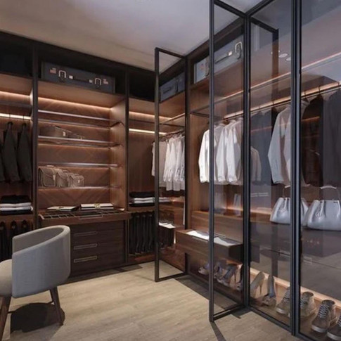 функциональность гардеробных комнат