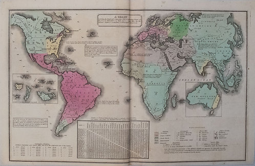 1835 Smith World Map