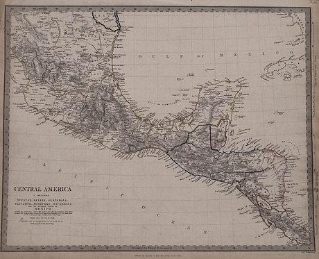 1842 SDUK Map of Central America