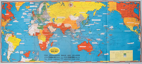 1942 Turner Dated Events War Map
