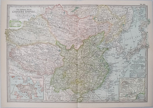 1904 Smith Map of China
