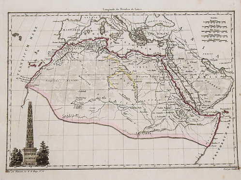 1812 Malte-Brun Map of Northern Africa