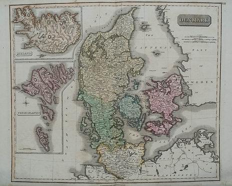 1814 Thomson Denmark Map