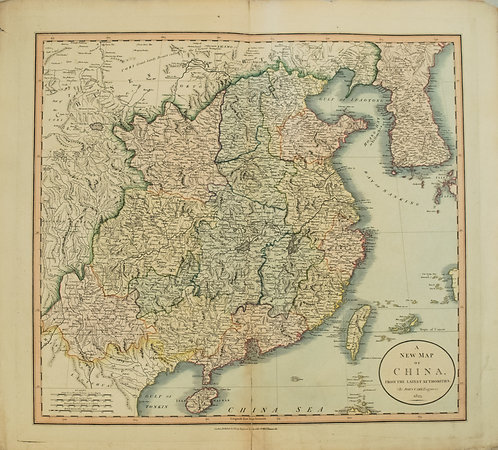 1825 Cary Map of China