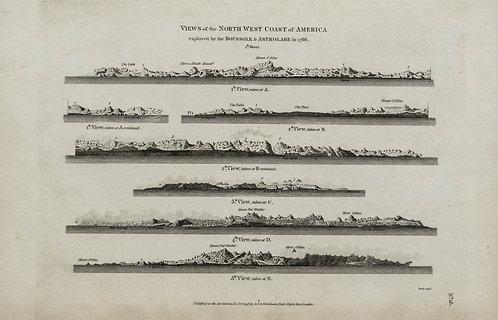 1786 Views of Alaska and Vancouver Island