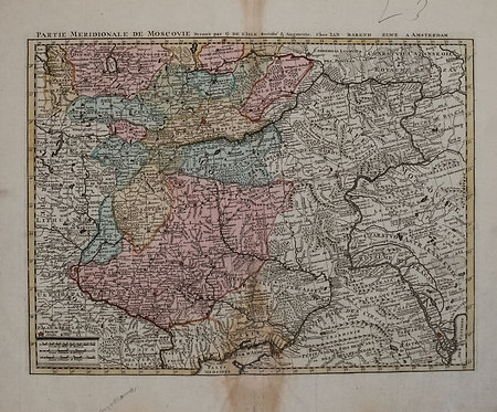 1792 Elwe Map of Southern Russia in Europe