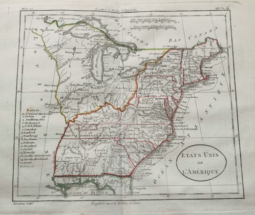1807 Langlois World Atlas of Modern Ancient Maps Antique Maps