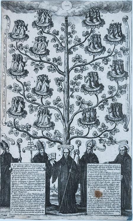 c. 1656 St. Benedictus Tree Frontespiece
