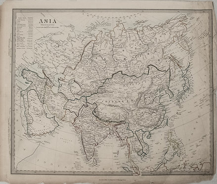 1840 SDUK Map of Asia