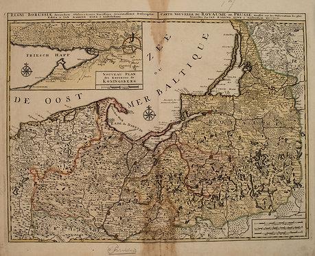 1792 Elwe Map of Southern Baltics