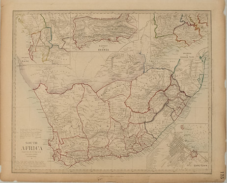 1834 SDUK Map of South Africa