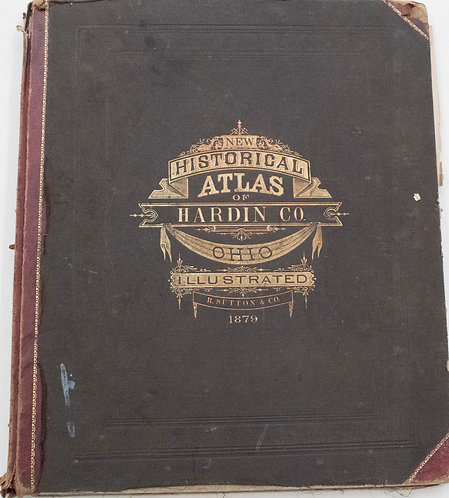 1879 Sutton Atlas of Hardin Co. OH