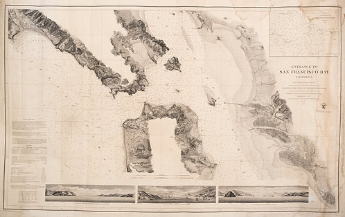1859 Map of San Francisco Bay