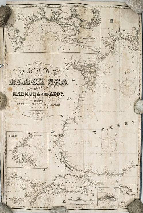 1853 Imray Chart of the Black Sea Area