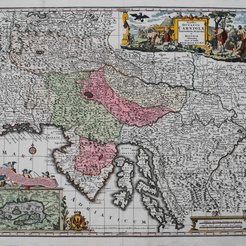 Antique and rare maps of Southern Europe and the Mediterranean
