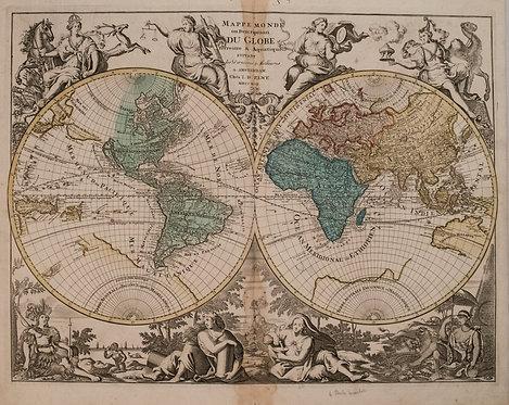 1792 Elwe World Map