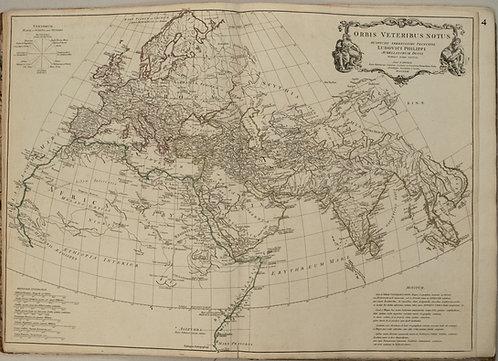 1763 d'Anville Ancient World Map