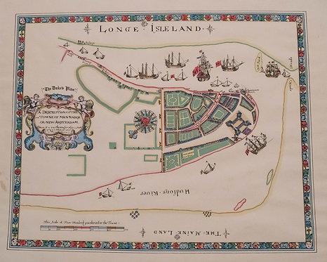 1859 version of 1664 New York City Plan