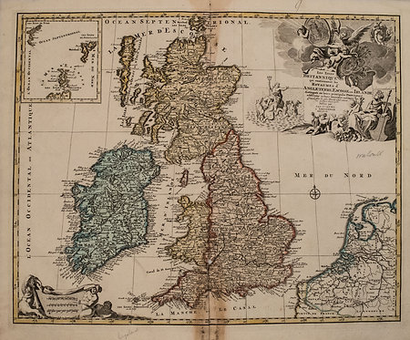 1792 Elwe Map of Great Britain and Eire