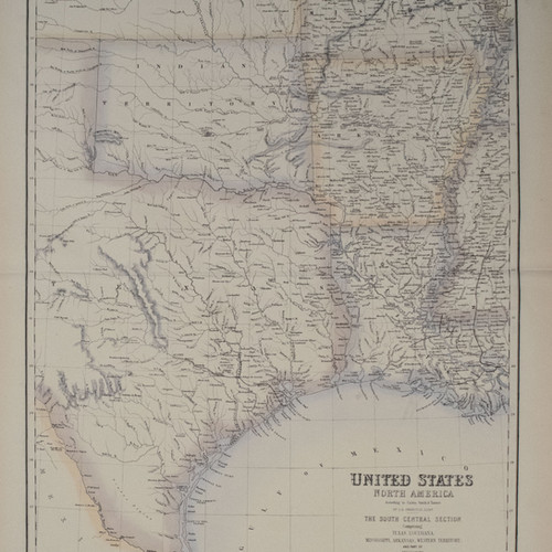 Antique And Rare Maps Of Southern United States - Southern us map