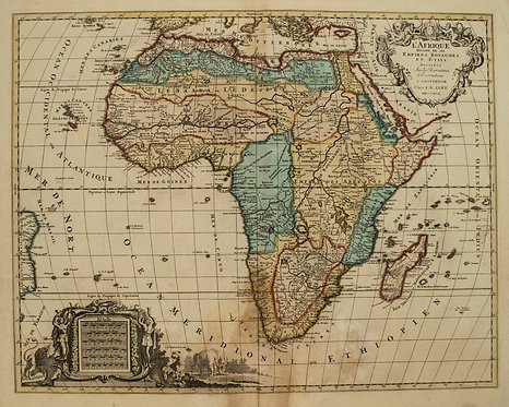 1792 Elwe Map of Africa