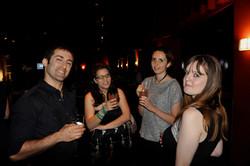 Jonathan, GF, Michelle and Ariane