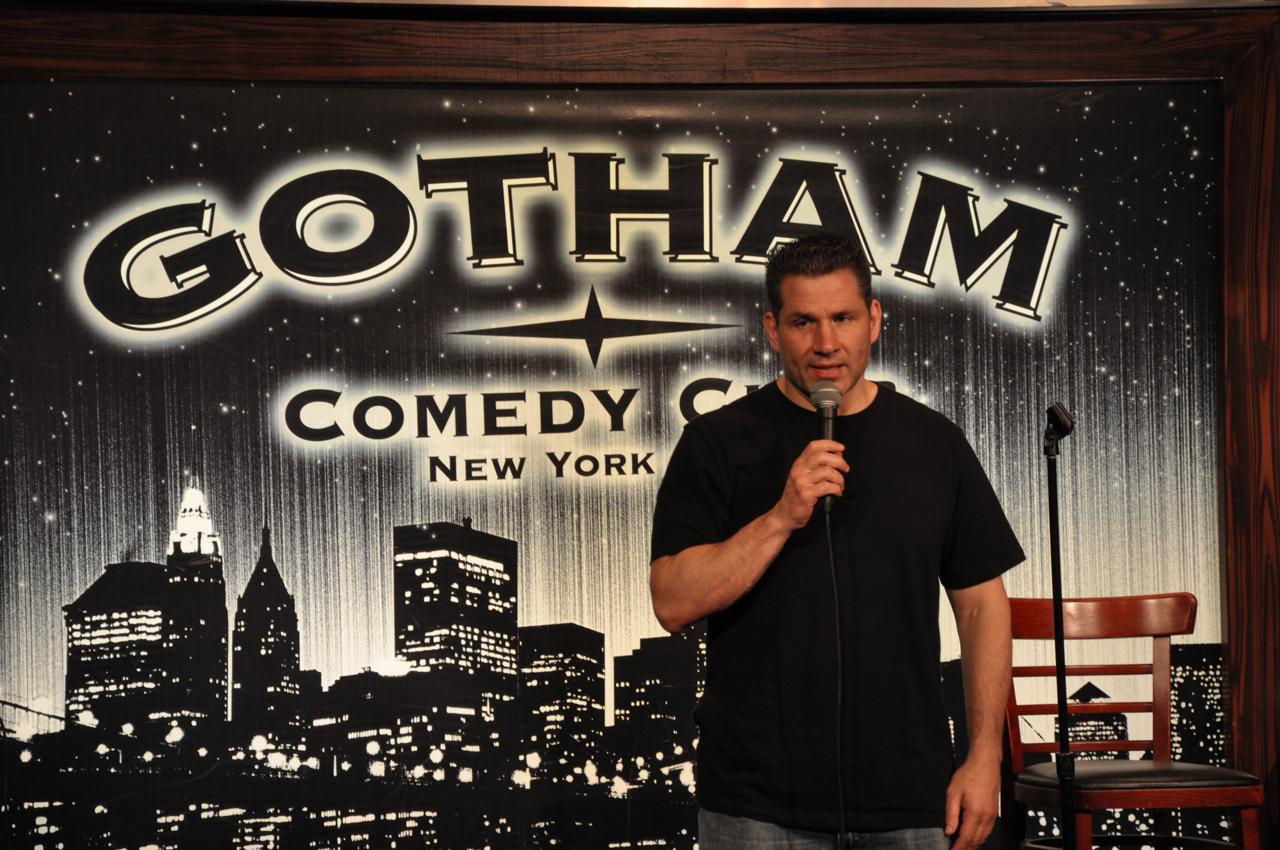 Last comic on stage
