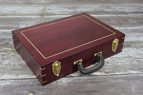 Aaron Cain Custom Deck Boxes Purpleheart
