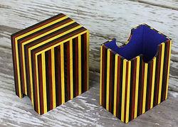 Pin Striped Toploader deck box