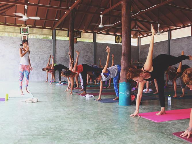 Pranayama Garden Yoga Hall