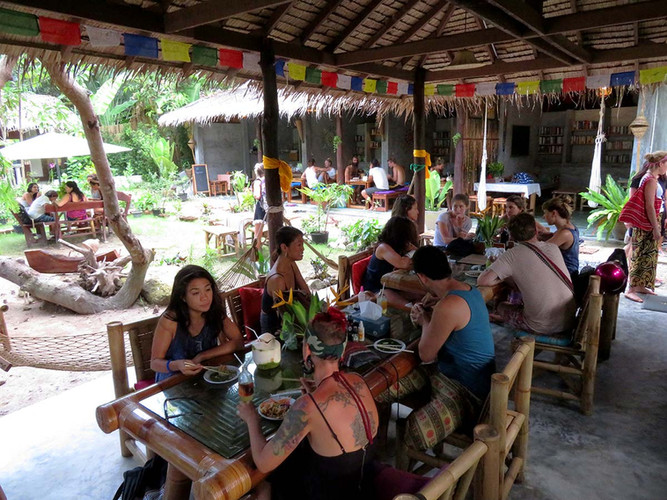 Pranayama Garden Restaurant