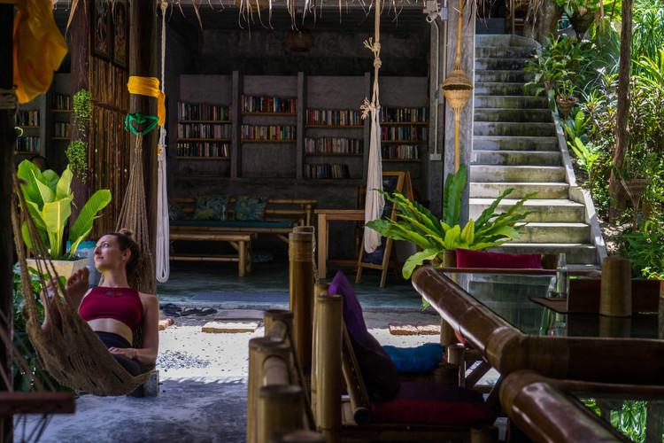 Pranayama Garden Library