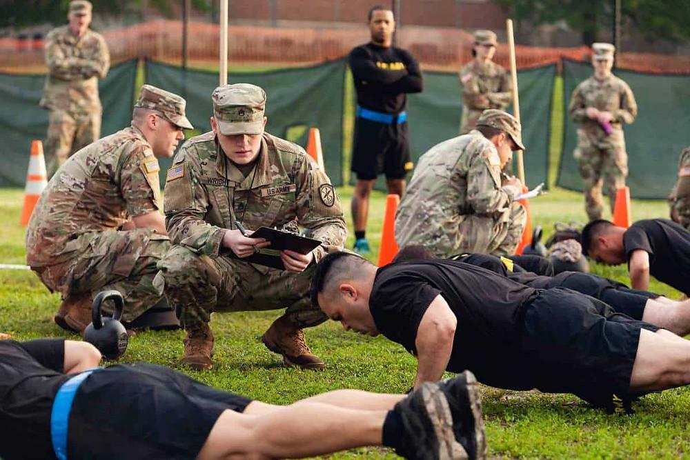 Προετοιμασία για αθλήματα σώματα ασφαλείας