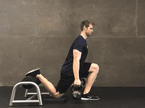 Rear foot elevated split squat. Μια από τις καλύτερες ασκήσεις για ενδυνάμωση ποδιών