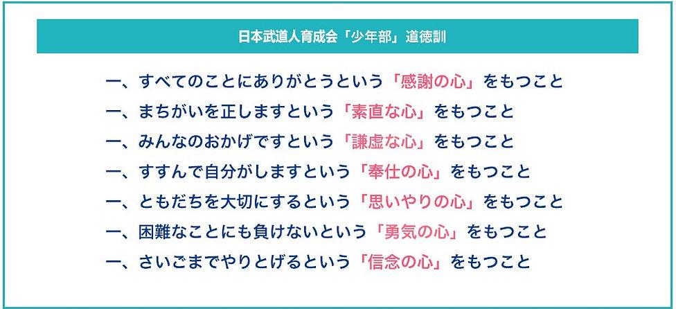 日本武道人育成会 少年部道徳訓.jpg