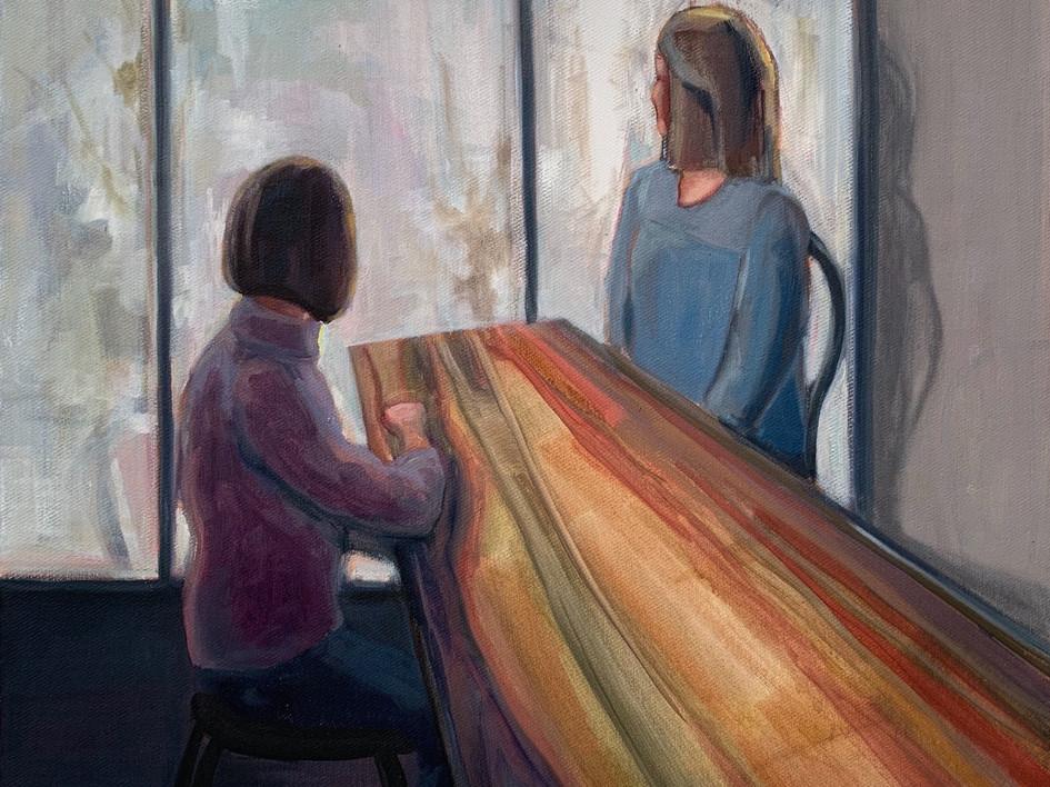 Life Still (Wooden Table)