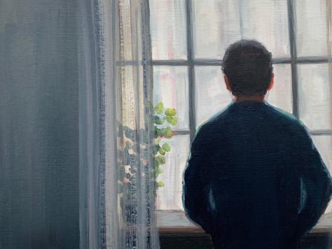 Life Still (Man at Window)