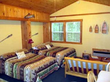 Cabin #1-Typical Interior Studio-Sleeps