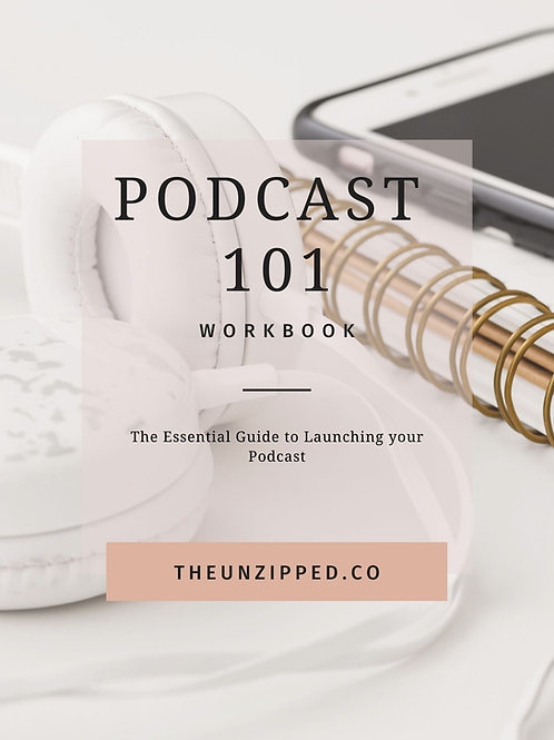 Podcast 101 Workbook