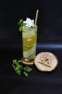 Cool Fruit Cucumber Mocktail