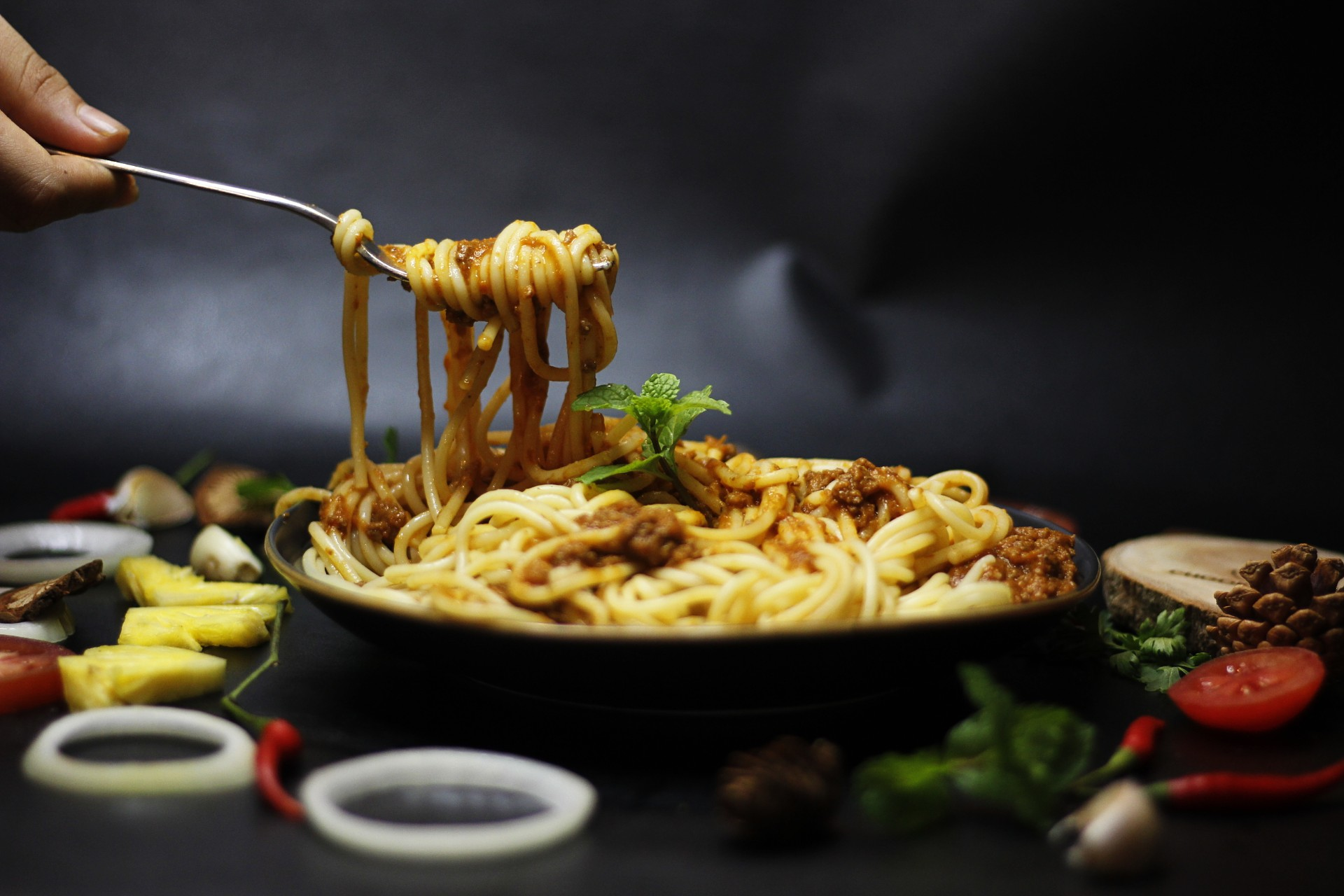 Spaghetti Bolognese/ Mỳ Ý sốt bò băm