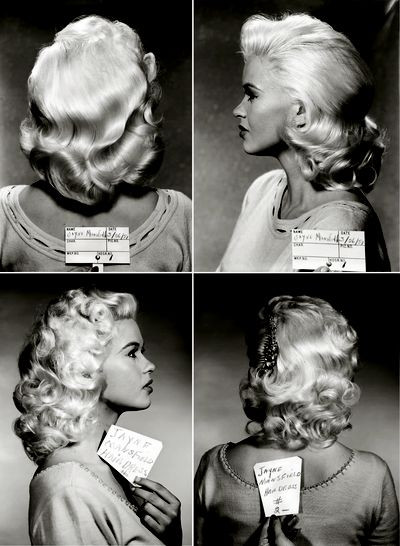Jayne Mansfield in test shots. Photo: Styling the Stars: Lost Treasures from the Twentieth-Century Fox Archive