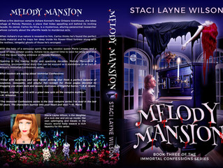 MELODY MANSION new book cover reveal!