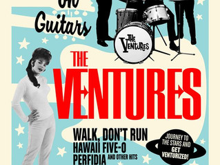 The Ventures: Stars on Guitars music documentary is ready for prime-time!