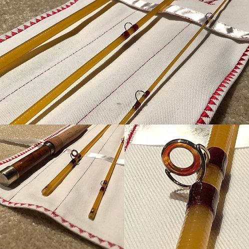 Kabuto 6'6 2wt Ultralight Glass Fly Rod