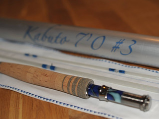 Kabuto 7'0 3wt Custom fly rod for Scott by Gouldfish