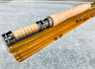 Kabuto 7'9 3/4wt Glass Fly Rod for Mike
