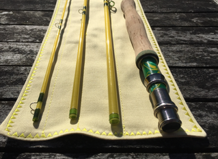Gouldfish LemonGlass and Lime8'0 4wt S2 fast glass - NOW SOLD to Scott in Washington State, US