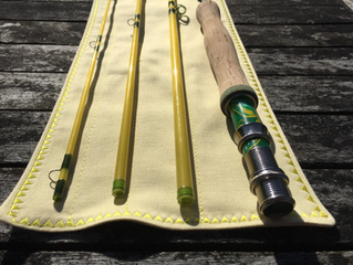 Gouldfish LemonGlass and Lime 8'0 4wt S2 fast glass - NOW SOLD to Scott in Washington State, US